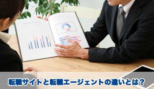 転職サイトと転職エージェントの違い!どちらが転職しやすいの?